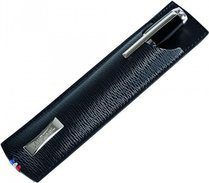 S.T. Dupont Line D Single Pen Case – Black Contraste 180316