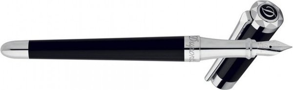 Liberté Fountain Pen Black Lacquer